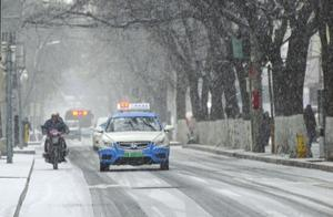 兰州市迎来2020年的第一场雪