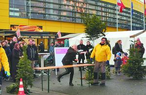 德国人处理圣诞树很花心思