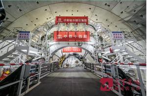 """济南黄河隧道盾构机顺利穿越黄河北岸大堤 进入""""穿河""""阶段"""