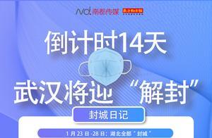 """76天,14天,14天,武汉解除""""封城""""的关键数字"""
