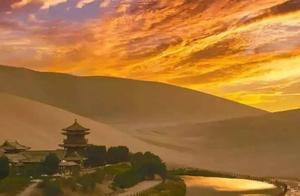 鸣沙山月牙泉:驼队大漠梦飞天 | 景区复游图鉴