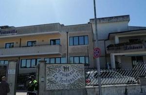 意大利一养老院护理人员因疫情集中撤离 部分老人出现脱水症状