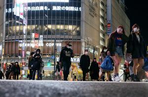 """日本民众面对""""紧急事态宣言""""表现各异部分人称不开工没收入"""