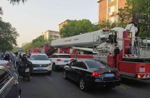 天津 一居民家中发生火情