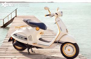 老婆不同意买摩托车怎么办?给她看这台Vespa x Dior联名款