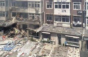 突发!天津一居民楼煤气爆炸,致1死17伤