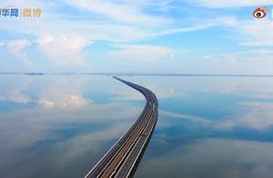 南京天空之境石臼湖上热搜,网友:真美,还以为在宫崎骏的动画世界里