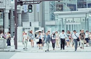 日本总人口下降至1.24亿,连续11年减少