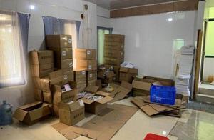"""江苏无锡警方捣毁两个制售""""女性护理用品""""窝点 案值上千万元"""