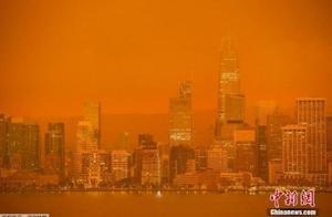 """16个纽约烧没了!美国山火中""""仅剩的湿气是人的眼泪"""""""