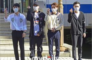 韩国男团BTOB参加《CUBE通信》节目拍摄