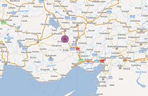 土耳其尼代省发生5.1级地震 震源深度6.97千米