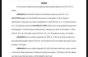 美法院裁决暂缓实施TikTok下架行政令,美商务部回应:遵守裁决
