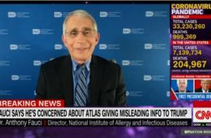 公开撕!福奇上电视斥责白宫疫情顾问:总是提供错误信息