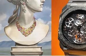 本来要看宝格丽日内瓦大奖参选腕表,额外领略了巴洛克风格腕表珠宝