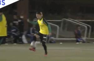 表现如何?日本女足球员永里优季上演男队首秀,间接助攻哥哥进球