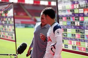 穆帅打断孙兴慜赛后采访:你那个进球太xx精彩了