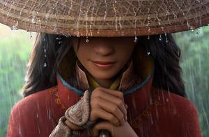 迪士尼动画新片《寻龙传说》曝海报 聚焦亚裔公主