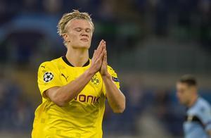 20岁零4个月,哈兰德成为德甲上演大四喜最年轻球员