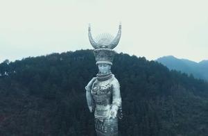 """高88米!贫困县花8600万元打造""""女神像"""",当地回应:未使用国家扶贫资金"""