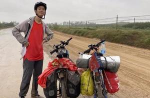24天2300公里!19岁四川小伙骑行上大学
