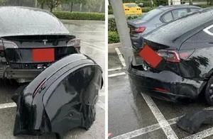 特斯拉承认Model 3后保险杠存在设计问题