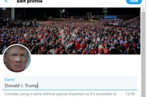 """maga2020""!荷兰安全专家称猜中特朗普推特账户密码登陆成功"