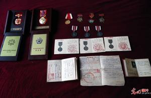 军功章记录抗美援朝老战士的心路历程