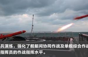 东部战区海军最新实兵实弹演练画面曝光,太燃了