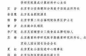 300名全国三八红旗手全名单来啦!北京12人上榜