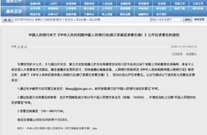 人民币包括实物形式和数字形式!中国人民银行法将大修