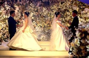 这对姐妹的婚礼,马云送来大礼