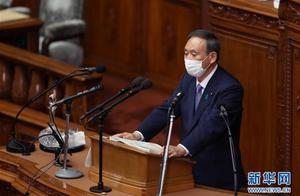 发表首次施政演说 菅义伟说易行难