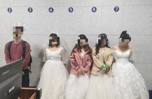 四女子铁路上拍婚纱艺术照被罚,网友:留住美好也要看地方