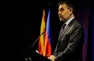 不信任投票前,巴塞罗那足球俱乐部主席巴托梅乌辞职