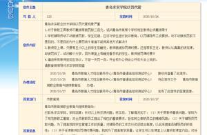 青岛求实职业技术学院以罚代管现象严重?学校回应
