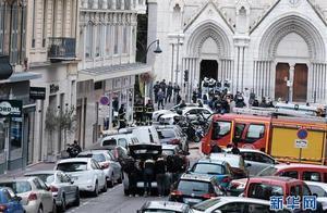法国尼斯发生持刀伤人事件 至少3人死亡