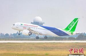 2020南昌飞行大会开幕 C919国产大飞机首次进行飞行表演