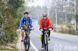 武汉爷爷骑行600公里,只为面谢南京援鄂医生