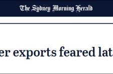 澳大利亚龙虾在中国遭遇清关延迟,澳媒炒作:将是下一个打击目标