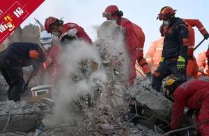 爱琴海强震后发生上千次余震 救援工作持续