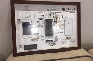 iPhone4被制成标本售卖,价格800元至1000元,要吗?