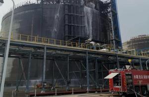 广西北海液化天然气接收站码头起火,火灾已致6死3伤