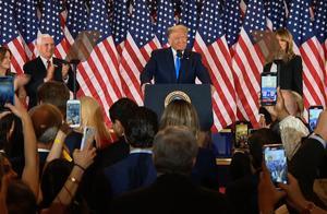 美国大选|特朗普白宫发表演讲:我们正准备赢得这次选举