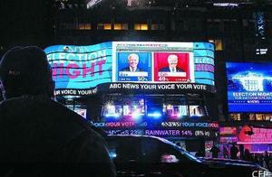 美国民众等待大选结果出炉