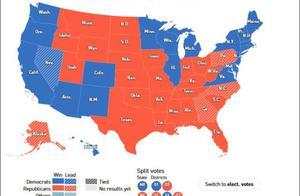 特朗普必须拿下宾州、北卡、佐治亚、内华达,才可能连任