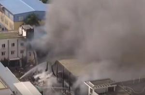 福州仓山厂房仓库起火冒浓烟,扑救3小时火势控制,暂无伤亡