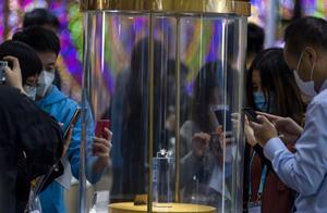 """2020上海进博会:88克拉""""传奇黑钻""""吸人眼球"""
