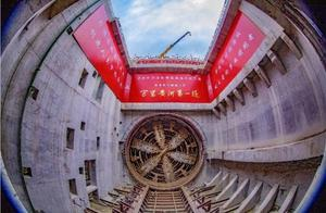 """首次穿越地上悬河,""""万里黄河第一隧""""首线贯通"""