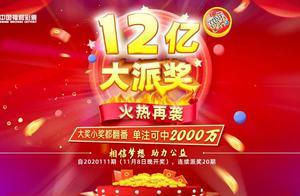 单注最高可中2000万元!福彩双色球12亿大派奖活动明日开启→